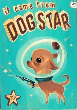 Front cover of a fifties Space Age science fiction novel