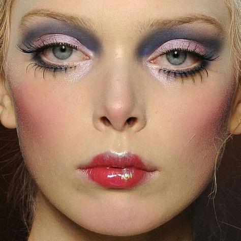 80s Makeup, Runway Makeup, Cute Makeup, Makeup Art, Beauty Makeup, Makeup Looks, Hair Makeup, Gorgeous Makeup, Makeup Geek