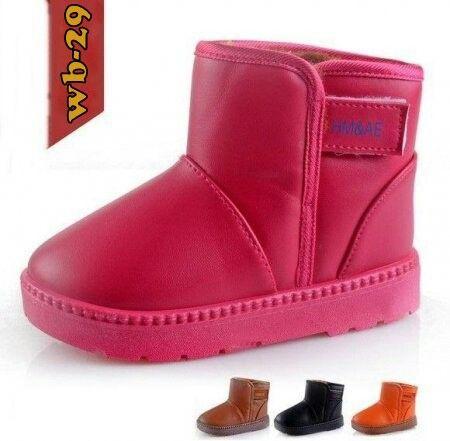 Sepatu Boots Winter Import Anak Kode Wb 29 Hotpink Doff Price