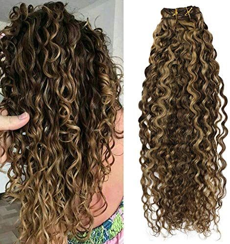 Enjoy Exclusive For Moresoo 22 Inch Clip Wave Hair Extensions