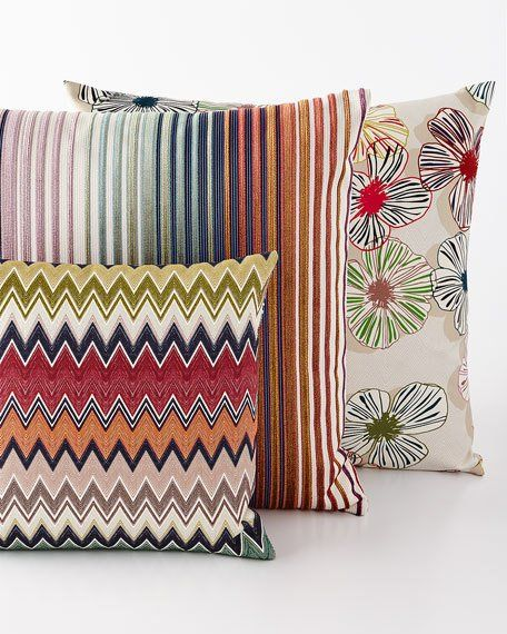 Missoni Home Togo Tunisi And Tsavo Pillows Matching Items In