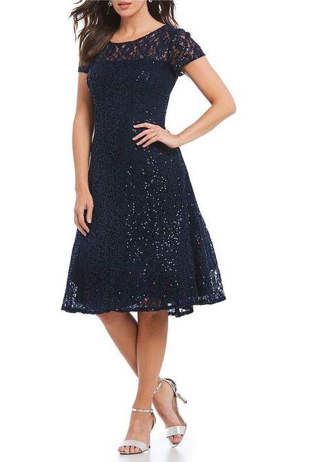 678de0e6759 Ignite Evenings Cap Sleeve Sequin Lace Midi Dress  Cap Sleeve Ignite ...