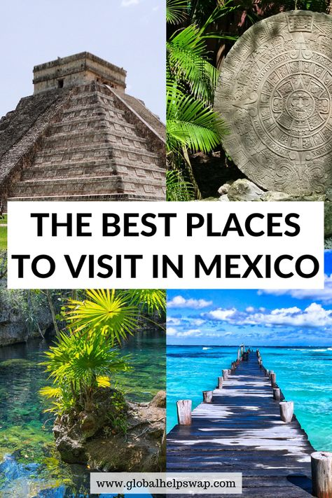 Discover all of the best places Mexico has to offer. You'll see ruins, beaches, culture, and cities. This is a fantastic Mexico itinerary.| backpacking in Mexico | Mexico itinerary | Mexico travel | Mexico one month | | Mexico travel tips | | Things to do in Mexico | | Best Places in Mexico | #mexico #mexicoitinerary #mexicotravel
