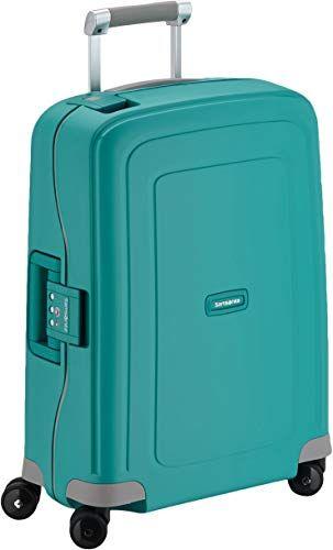 Buy Samsonite Hand Luggage 34 Liters 55x40x20 Cm Aqua Blue Online In 2020 Hand Luggage Luggage Uk Aqua Blue