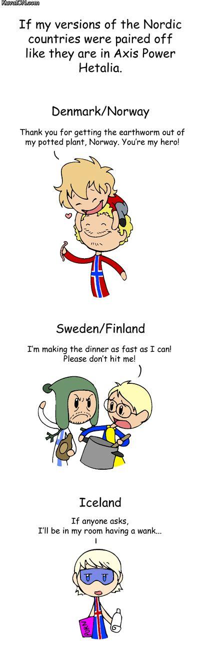 584 Best Scandinavia and The World images | Comics, Satw comic, Comic strips