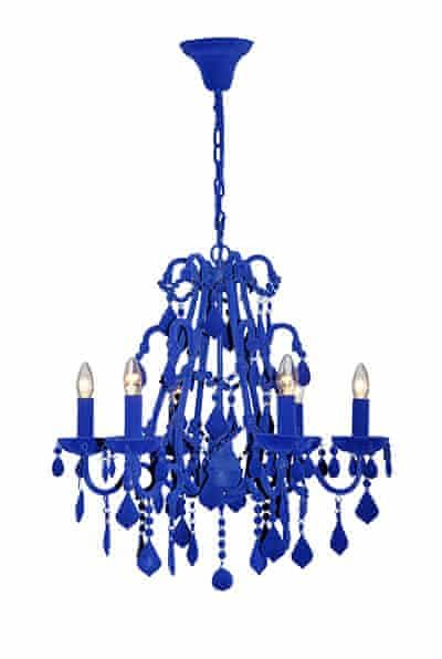 The Wishlist Chandeliers In Pictures Chandelier Blue