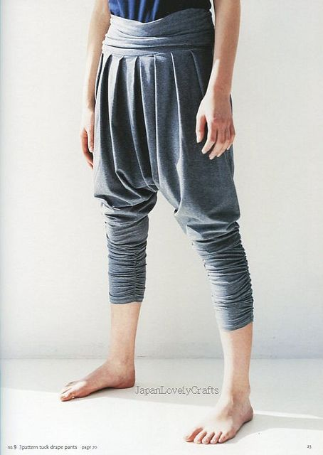 DRAPE DRAPE 2 BY HISAKO SATO - JAPANESE SEWING PATTERN BOOK FOR ELEGANT AND GORGEOUS DRESS, DRESSES 9