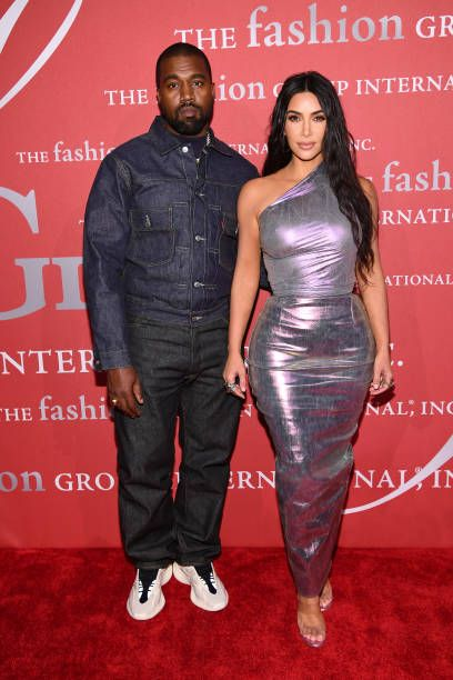 Kanye West And Kim Kardashian West Attend The 2019 Fgi Night Of Stars In 2020 Kanye West And Kim Kim Kardashian And Kanye Kanye West