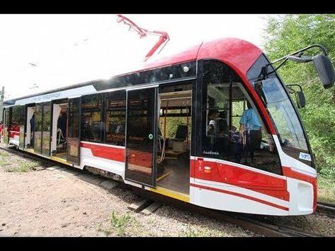 В столице Бурятии появился современный трамвай