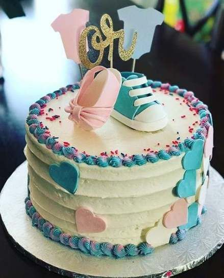48 Ideas For Baby Reveal Cake Thoughts Cake Baby Baby Reveal