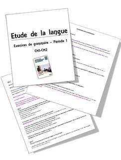 Faire De La Grammaire Au Cm2 : faire, grammaire, Faire, Grammaire, Méthode, Picot