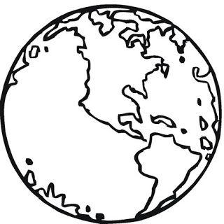 Nuestro Planeta Tierra Dibujos Para Colorear Jpg La Tierra