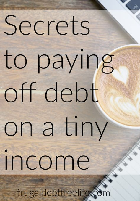 7 tips for paying off debt on a small income: Debt free motivation