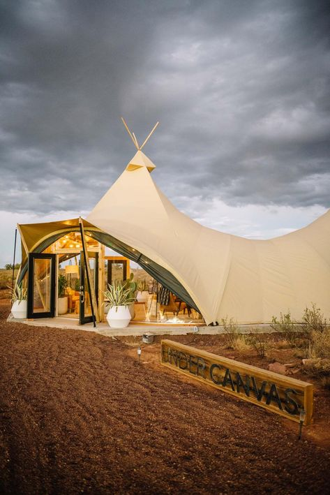 A New Glampsite Just Opened at the Grand Canyon - Tents - Ideas of Tents Vacation Places, Dream Vacations, Vacation Spots, Places To Travel, Honeymoon Places, Oh The Places You'll Go, Places To Visit, To Infinity And Beyond, Future Travel