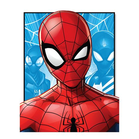Spider-Man: Evergreen Face Mural - Officially Licensed Marvel Removable Wall Adhesive Decal Giant (50