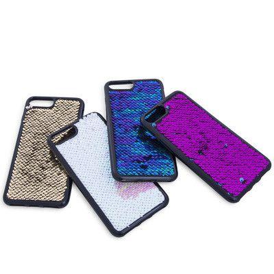 reputable site 8e47d 915c2 iphone 8 plus/7 plus/6 plus reversible sequin soft case AD HOLD ...