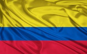 Flag In This Picture It Shows A Colombian Flag Yellow On The Flag Represents The Gold That Is One Of Their Bandera De Colombia Historia De Colombia Colombia