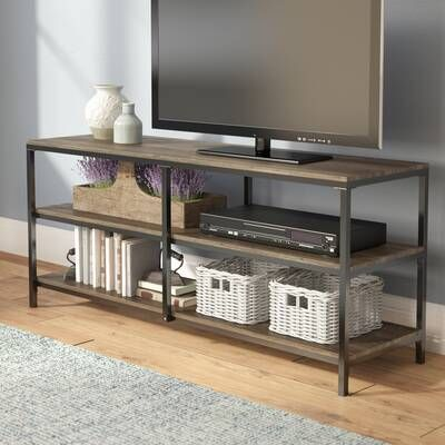 Robbin Entertainment Center For Tvs Up To 60 Farmhouse Tv Stand Furniture Modern Tv Stand
