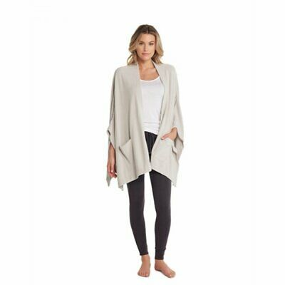 Barefoot Dreams Bamboo Chic Lite Circle Cardi Medium Pewter