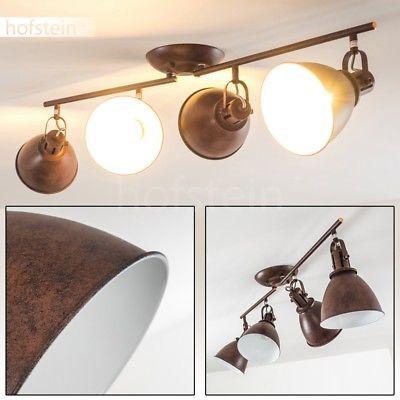 Design Deckenlampe Decken Leuchten Küchen Strahler gold Wohn Zimmer Lampen Flur