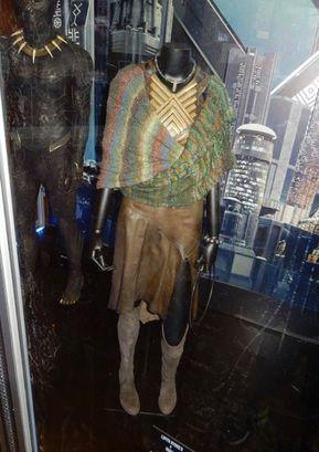 New Black Panther 2018 Wakanda Nakia Combat Outfit Uniform Cosplay costume set