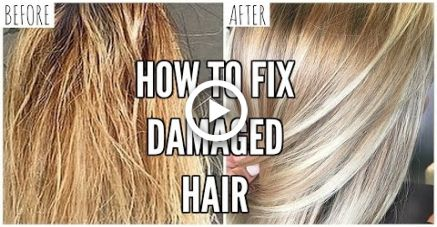 How To Fix Extremely Damaged Hair At Home Hair With Images