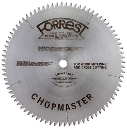 Forrest Cm12806115 Chopmaster 12 Inch 80 Tooth Atb Miter Saw Blade With 1 Inch Arbor Amazon Com Circular Saw Blades Radial Saw Saw Blade