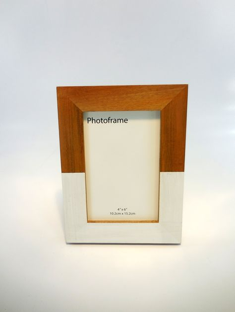 Modern Picture Frame 4x6 Picture Frame Acacia Wood Frame Natural Wood Frame White Frame Wooden Photo Frame Handmade Frame Hardwood With Images Handmade Picture Frames Wood Picture Frames Picture On Wood