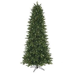Ge 7 5 Ft Pre Lit Oakmont Spruce Artificial Christmas Tree With 1000 Co Slim Artificial Christmas Trees Artificial Christmas Tree Christmas Tree Without Lights
