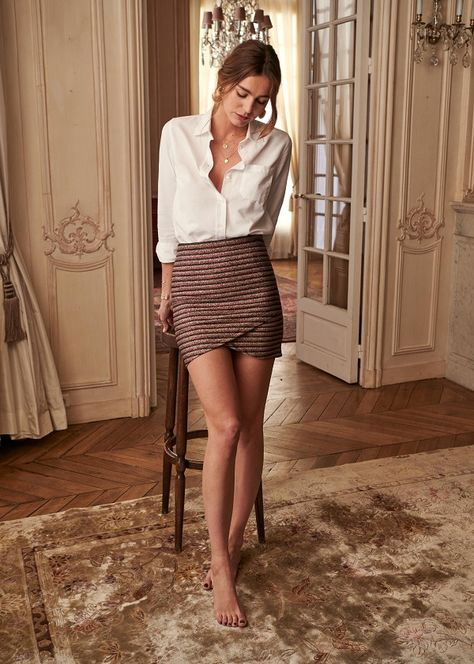 40 classy business outfits ideas for the sophisticated women 1 Classy Business Outfits, Stylish Work Outfits, Classy Outfits, Girly Outfits, Mode Outfits, Skirt Outfits, Ladies Outfits, Farewell Dresses, Flapper Style Dresses