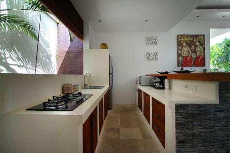 #dapur diruangan semi terbuka | dekorasi rumah, rumah, dan