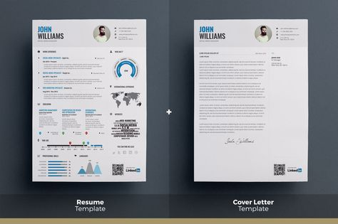 Infographic Resume - Psd Indd \ Docx by The Resume Creator on - infographic resume creator