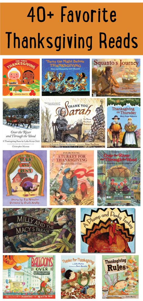 Wondering which Thanksgiving books are good to read to your class? We've got you covered with this list of 40+ books that are perfect for lessons on gratitude, history and more.