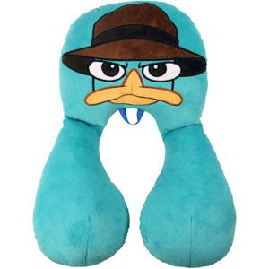 Disney Perry Travel Buddy Neck Pillow