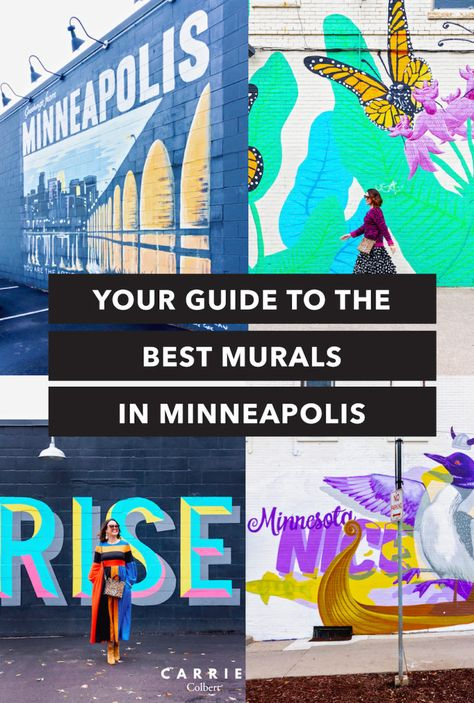 Your Guide to the Best Murals in Minneapolis - Carrie ColbertYou can find Minneapolis and more on our website.Your Guide to the Best Murals in Minneapolis - Carrie Colbert Minnesota Home, Minneapolis Minnesota, Boston Shopping, Mall Of America, North America, Beach Trip, Beach Travel, Canoe Trip, Twin Cities