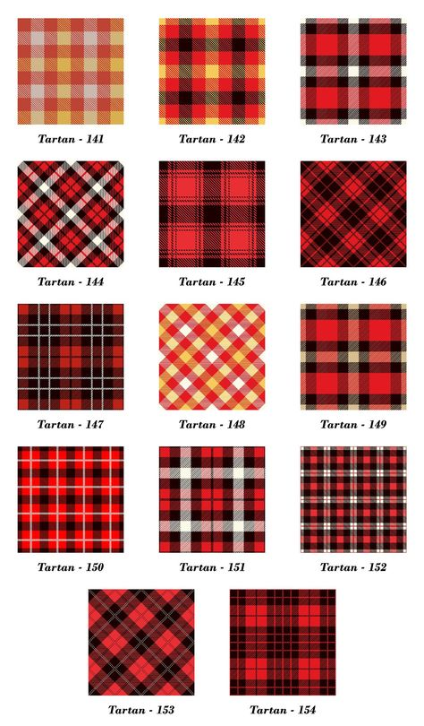 Seamless Tartan Pattern Part by Vectorchoice on