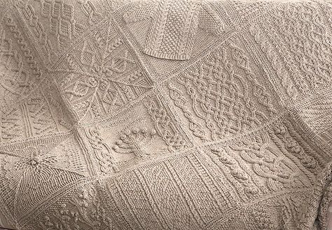 Ravelry: The Great American Aran Afghan pattern by Knitter's Design Team