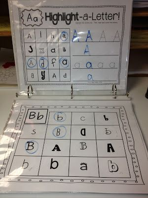 Variety of folders in Writing Center to use with whiteboard pens