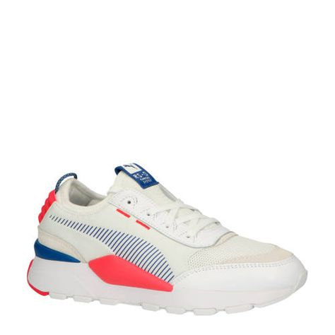 RS 0 Core sneakers wit/rose/blauw - Blauw, Roze blauw en ...