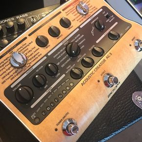 Zoom Ac 3 Acoustic Creator Acoustic Guitar Effects Photo And Video