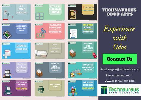 Pin by Technaureus Info Solutions Pvt  Ltd  on Odoo Apps