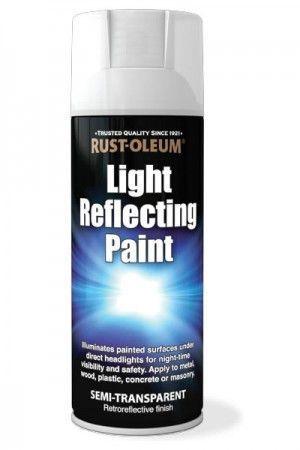 Rust Oleum Light Reflecting Spray Paint Illuminates Painted