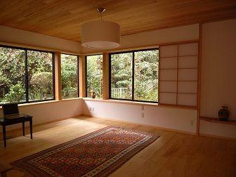 天井に木を張ると 天井 木 和室