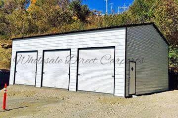 And Metal Buildings In 2020 Garage Garage Doors Doors