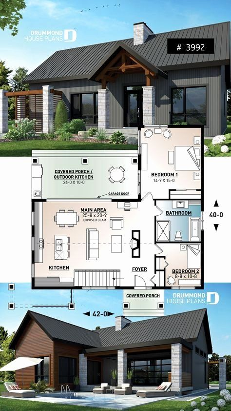 Roblox Bloxburg One Story Modern House Awesome Roblox Bloxburg House Ideas 3 Story In 2020 Sims House Plans Craftsman House Plans House Plans