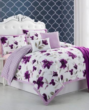 Cathay Home Inc Ellen Tracy Monterrey 6 Piece Queen Comforter Set