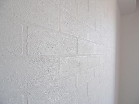 白いレンガ模様の壁紙 サンゲツのsp2145 サンゲツ 壁紙 リビング
