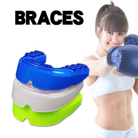 Silicone Shield Karate Muay Basketball Boxing Mouth Protective Teeth Protector