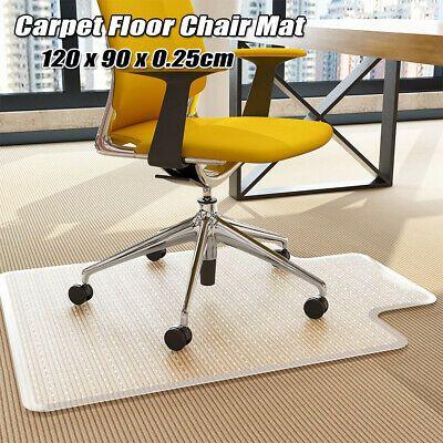 48*36 Hard Wood Floor Chair Mat Office Computer Desk Chairmat PVC Protector Work