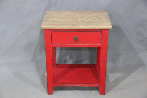 1Dw Bedside-Hanfurs Furniture